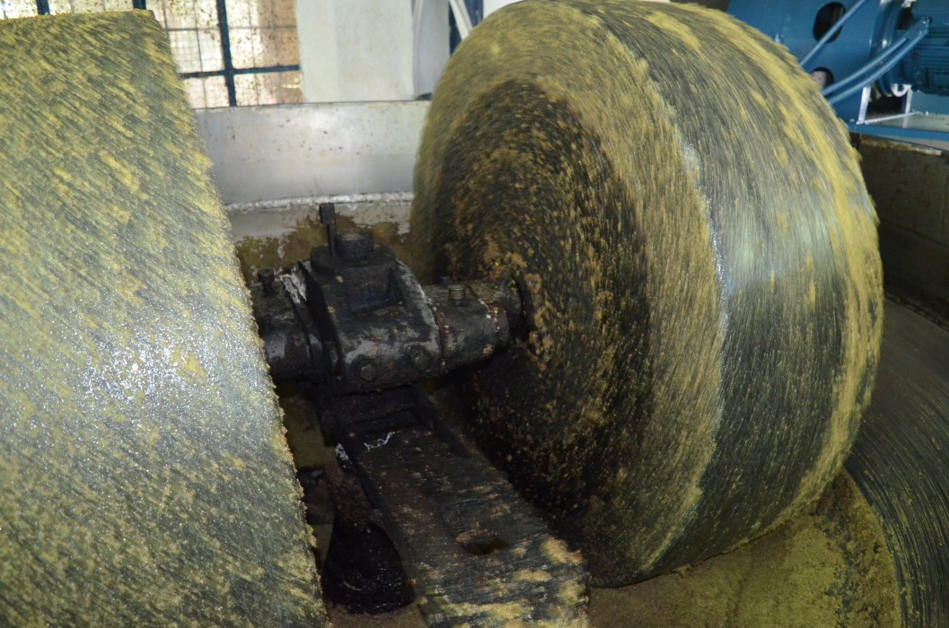 """""""Οικολογικό Ελαιοτριβείο Παναγιώτη Καρβέλη"""": Φρουτώδες ελαιόλαδο από τις μυλόπετρες!"""