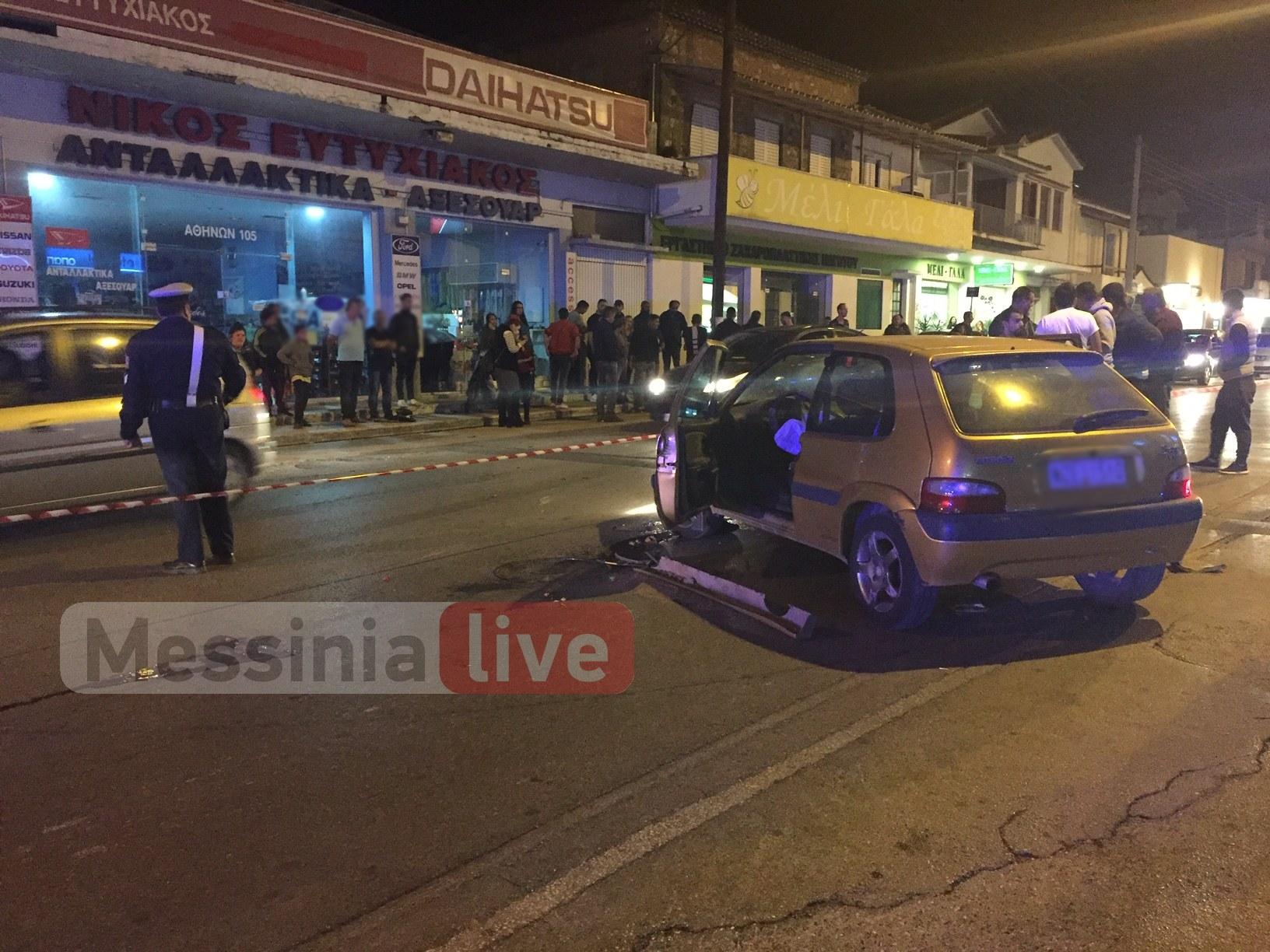 Τροχαίο δυστύχημα στην Αθηνών – Νεκρός o 28χρονος οδηγός μηχανής