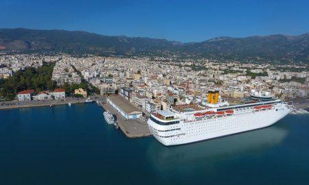 Τη Δευτέρα το τελευταίο κρουαζιερόπλοιο για φέτος στο Λιμάνι Καλαμάτας