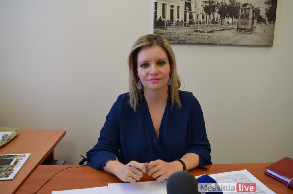 Υποψήφια δήμαρχος Καλαμάτας και η Παναγιώτα Ντίντα