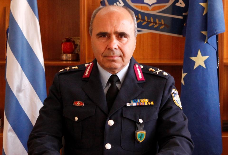 Στεφανόπουλος Κωνσταντίνος ο νέος γενικός περιφερειακός αστυνομικός διευθυντής Πελοποννήσου