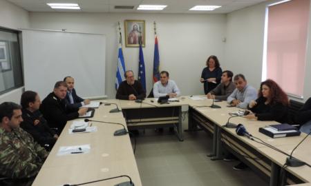 Συνεδρίασε το Συντονιστικό Τοπικό Όργανο Πολιτικής Προστασίας Δήμου Καλαμάτας