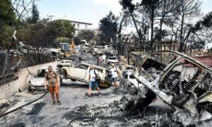 Τραγωδία δίχως τέλος στο Μάτι: Τους 100 έφτασαν οι νεκροί – Υπέκυψε 73χρονος εγκαυματίας