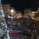 Η Καλαμάτα φωταγώγησε το Χριστουγεννιάτικο δέντρο της!
