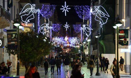 Πάτρα: Άνοιξε τις πόρτες του το Χριστουγεννιάτικο χωριό
