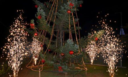 Φωταγωγήθηκε το δέντρο του ΔΙΟΚΛΗ στο Βιοτεχνικό Πάρκο
