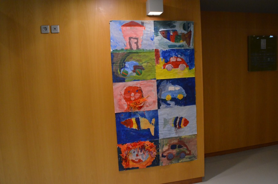 «Με χρώματα από τ' αστέρια»: Μέχρι τις 4 Ιανουαρίου στο Μέγαρο η έκθεση του Εικαστικού Εργαστηρίου