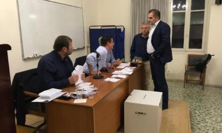 Bασιλόπουλος και Μπουζιάνης σε β' γύρο εκλογών