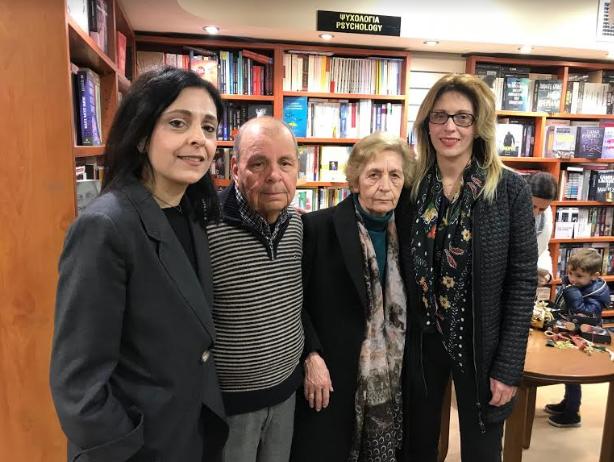 """""""Λυμένα κορδόνια"""": Παρουσιάστηκε το βιβλίο της Καλαματιανής συγγραφέως Ι.Φαββατά"""