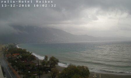 Βροχές και καταιγίδες από το πρωί στην Καλαμάτα και για τις επόμενες ώρες
