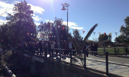 """Μεσσηνιακή Ένωση Αγιοφλωριτών """"Ο Πάμισος"""": 11:30 ο Αγιασμός στη Γέφυρα"""