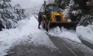 Δήμος Οιχαλίας: Ομαλοποιήθηκε η κατάσταση-Στο 50% της έκτασης του Δήμου η χιονοκάλυψη