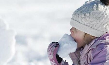 Γιατί δεν πρέπει να τρώμε το χιόνι