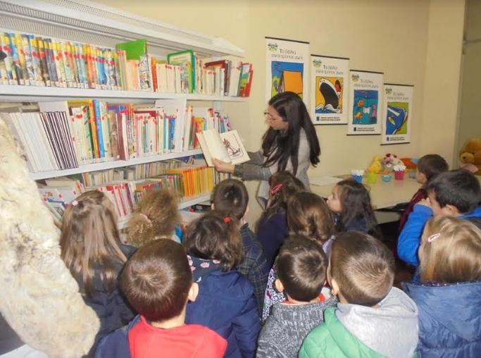 Εκπ.Μπουγά: Τα προνήπια στη Λαϊκή Βιβλιοθήκη Καλαμάτας