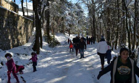 Κοσμοσυρροή στον Ταϋγετο για τα χιόνια!