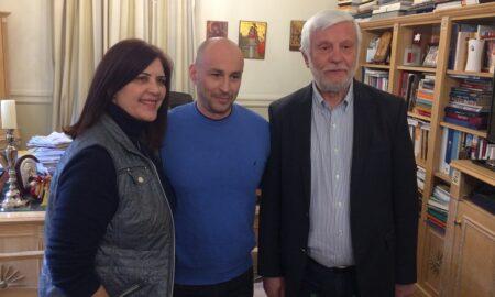 Τον Γιώργο Μπουλούκο στo ψηφοδέλτιο της Μεσσηνίας ανακοίνωσε ο Πέτρος Τατούλης