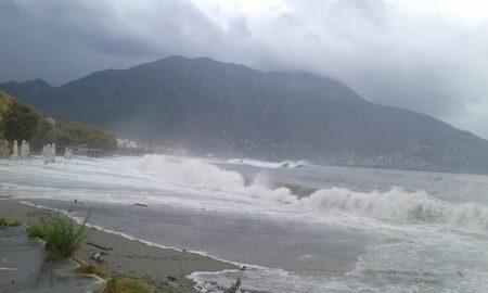 Θεοφάνια με θυελλώδεις ανέμους και τσουχτερό κρύο στη Μεσσηνία