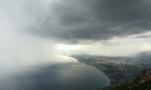 Βροχές και καταιγίδες σήμερα και στη Μεσσηνία-Μικρή πτώση της θερμοκρασίας