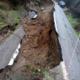 Καθίζηση στον δρόμο Πηγές-Αλαγονία: 2 μέτρα βυθίστηκε ο δρόμος για 35 μέτρα!