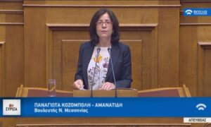 """Κοζομπόλη: """"Πρακτικές παρακράτους οι απειλές και η τρομοκράτηση των βουλευτών"""""""
