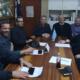 Συνάντηση Μανώλη Μάκαρη με ΔΣ Ναυτικού Ομίλου Καλαμάτας