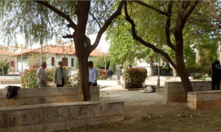 Μνημείο για τη γενοκτονία των Αρμενίων στην πλατεία Φραγκόλιμνας