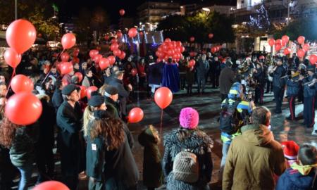 Πρωτοχρονιά στην Καλαμάτα: Υπό βροχή η αλλαγή του χρόνου στην κεντρική πλατεία