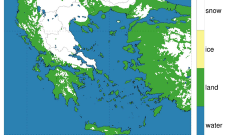 Εθνικό Αστεροσκοπείο Αθηνών: Το 51% της χώρας καλυμμένο με χιόνι