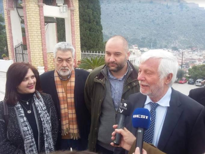 Τον Αναστάσιο Γανώση στo ψηφοδέλτιο της Αργολίδας ανακοίνωσε ο Πέτρος Τατούλης