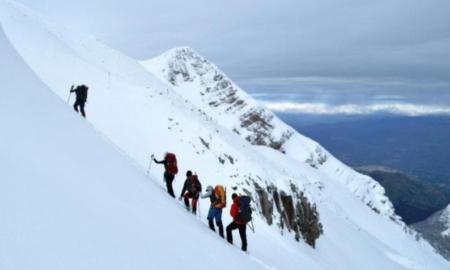 Ορειβατικός Καλαμάτας: Ανάβαση στην κορυφή του χιονισμένου Ταϋγέτου στα 2.408 μ.