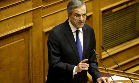 Αντ. Σαμαράς: Η Συμφωνία των Πρεσπών δεν λύνει το πρόβλημα, δημιουργεί πολύ μεγαλύτερο
