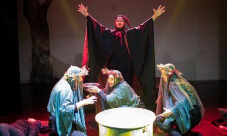 """Πειραματική Σκηνή: Εντυπωσιακή πρεμιέρα της """"Αγέλαστης Πολιτείας και των καλικαντζάρων"""""""