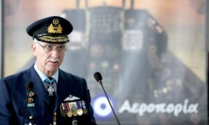 ΚΥΣΕΑ: Νέος αρχηγός ΓΕΕΘΑ ο αντιπτέραρχος Χρ. Χριστοδούλου