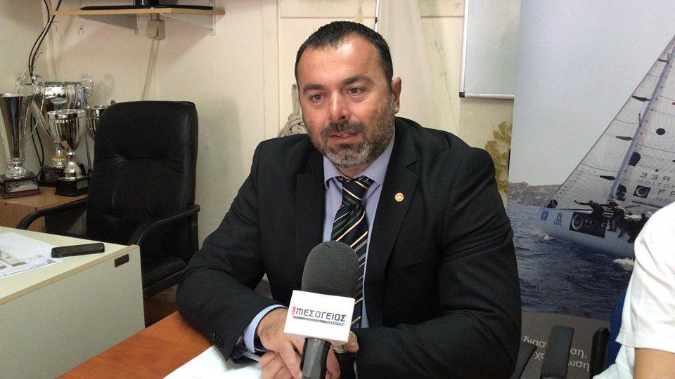 ΝΑΣΚ Αίολος: Για τρίτη θητεία πρόεδρος ο Χάρης Βγενής