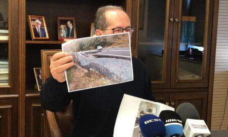Νίκας: Υπόσχομαι το Πάσχα η κατάσταση στην Αλαγονία θα είναι διαφορετική