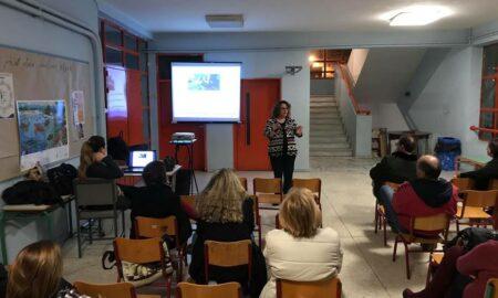 24o Δημοτικό Καλαμάτας: Επιτυχημένο σεμινάριο για τους γονείς για την ενδοσχολική βία