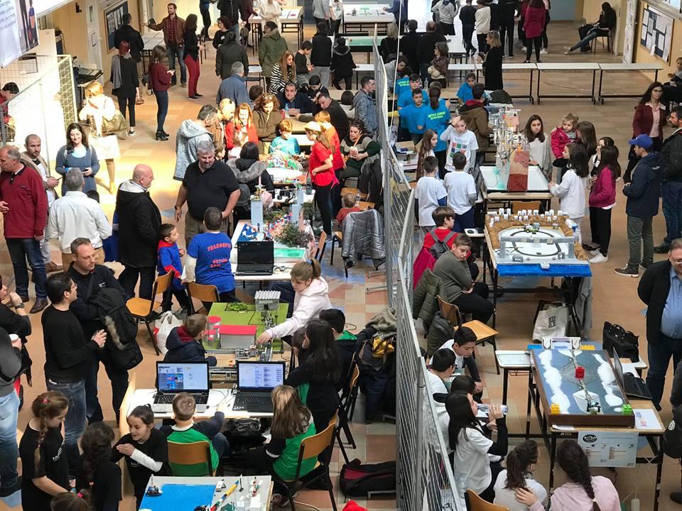 Ρεκόρ συμμετοχών για τη Ρομποτική στα Εκπ.Μπουγά