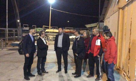 Ο γ.γ. Αθλητισμού επισκέφτηκε τα ναυταθλητικά σωματεία ΝΟΚ και Αίολο