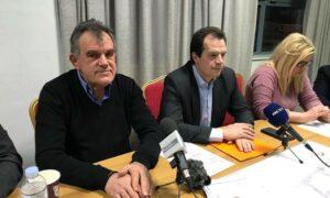 """Δέδες: Τον Μάρτιο η δημοπράτηση του """"Καλαμάτα-Ριζόμυλος"""" – Η Μεσσήνη 1 εκατ. για τον """"Ζορμπά"""""""