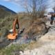 Με εντατικό ρυθμό προχωρά η αποκατάσταση των δρόμων στην Αλαγονία