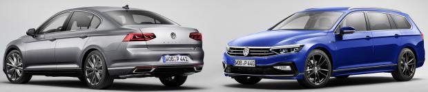 Ανανεωμένο Volkswagen Passat