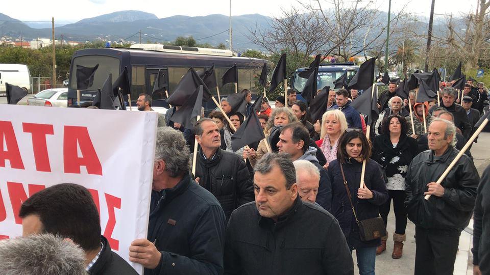 Διαμαρτυρία κατοίκων χωριών σε Αστυνομία και Εισαγγελία Καλαμάτας για την παραβατικότητα