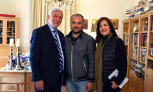 Π.Ε.Λακωνίας: Υποψήφιος με τον Π.Τατούλη ο Γιώργος Σκαφιδάς