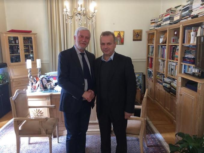 Ηλία Γεωργόπουλο στο ψηφοδέλτιο Μεσσηνίας ανακοίνωσε ο Τατούλης