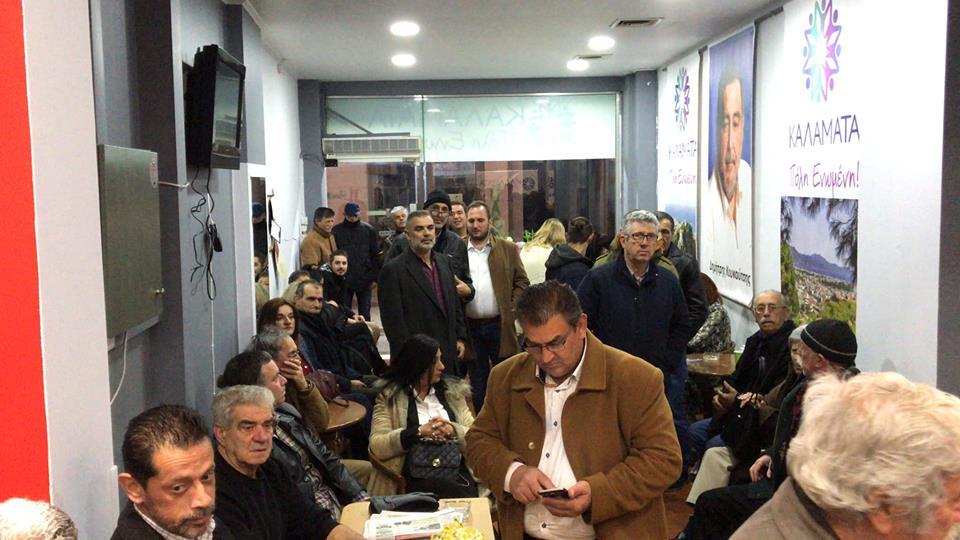 25 υποψήφιους του συνδυασμού του παρουσίασε ο Κουκούτσης