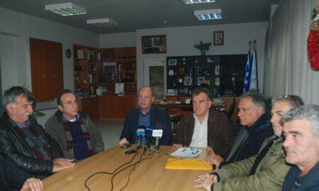 Στο Δημαρχείο Μεσσήνης ο πρόεδρος του ΕΛΓΑ για τις ζημιές στις καλλιέργειες