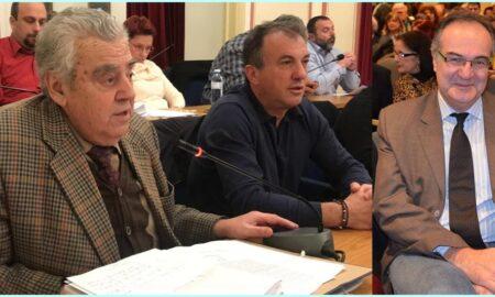 Mπρεδήμας και Χριστόπουλος μαζί με τον Κοσμόπουλο