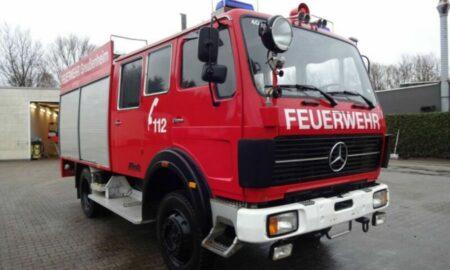 Δώρησαν πυροσβεστικό όχημα στο Δήμο Μεσσήνης
