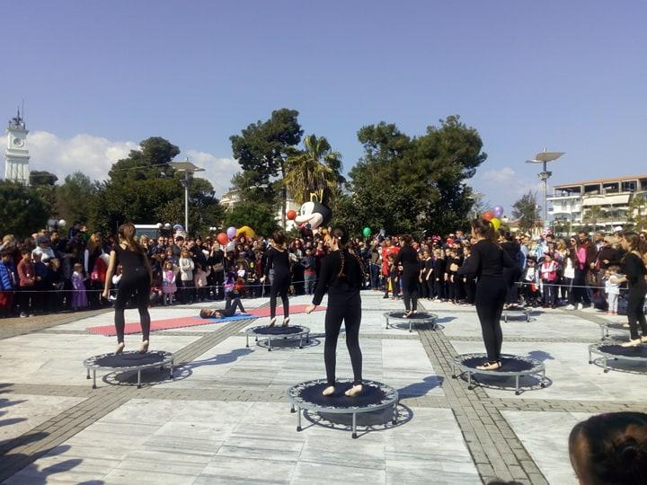 Πλήθος κόσμου στο Παιδικό Καρναβάλι της Μεσσήνης