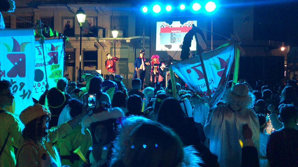 """""""Βούλιαξε"""" η Καλαμάτα από Καρναβαλιστές κι επισκέπτες!"""